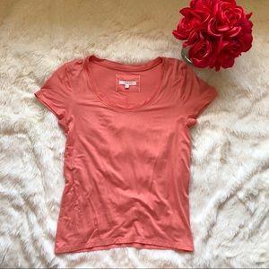 Anthropologie Pure + Good Shirt Peach Colored